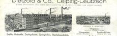 1934 dietzold rechnung neu