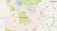 31 karte botsuana  google maps