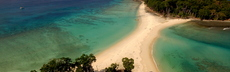 4 andaman islands drone photo of amazing islands travelling on boat