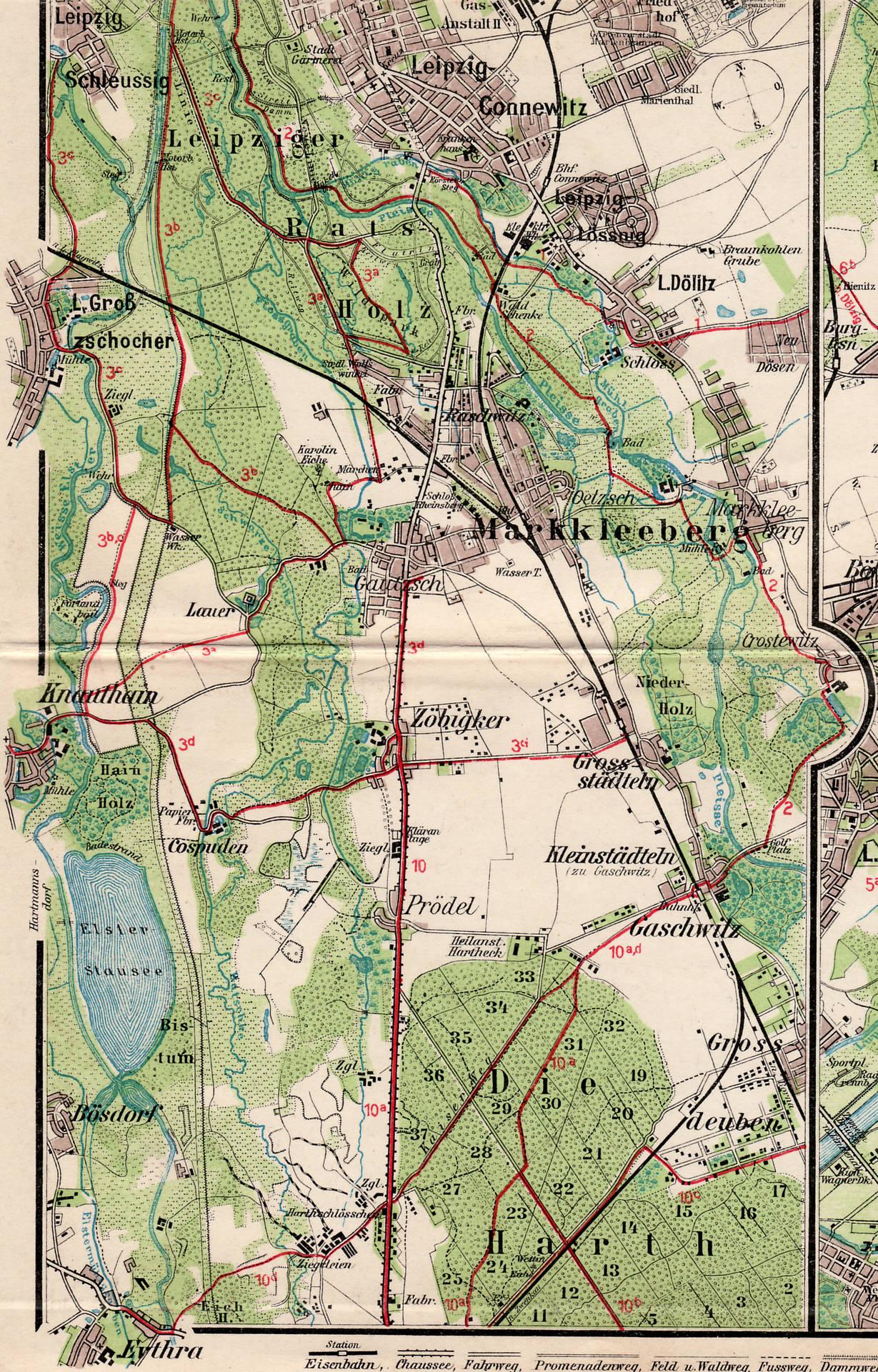 Karte markkleeberg