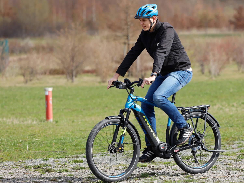 E bike dk trekking bike pf