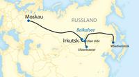 Transsib map