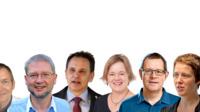 Collage wissenschaftler