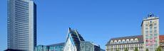 Augustusplatz city hochhaus universitaet und krochhaus andreas schmidt leipzig.travel